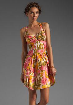 Patterson J. Kincaid x the man repeller Kimmy Dress in Tropic Multi