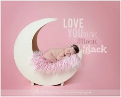 PJ's Moon Prop IVORY Newborn photography prop by PJsCraftingCorner