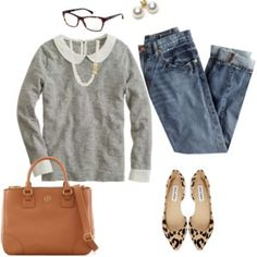 FALL ing for grey & leopard.