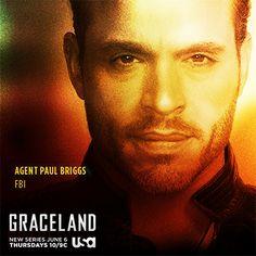 Meet Agent Paul Briggs (Daniel Sunjata) of the FBI. Get ready to enter the world of Graceland on June 6th.