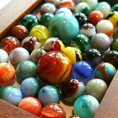 Box of marbles...