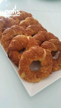 Çıtır Çıtır Simit Yapımı ( Videolu Detaylı Anlatım ile ) - Nefis Yemek Tarifleri Onion Rings, Doughnut, Appetizers, Cooking, Ethnic Recipes, Desserts, Yummy Yummy, Brot, Bakken