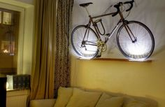 37 best bike racks images on pinterest bicycle hanger. Black Bedroom Furniture Sets. Home Design Ideas