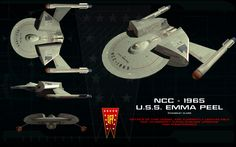 Chandley class ortho (TOS) ortho by unusualsuspex