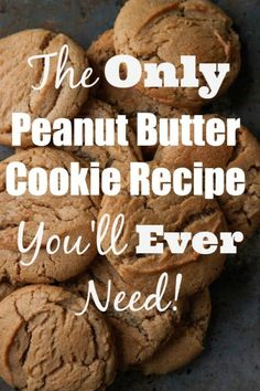 Everyone needs a great, go-to Peanut Cookie recipe....here's yours! This is The Only Peanut Butter Cookie Recipe You'll Ever Need!! | TheCornerKitchenBlog.com #peanutbutter