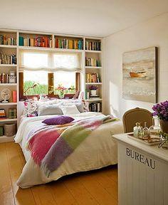 Quarto com livros