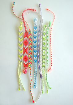 Back to the 80's Friendship bracelets!