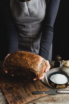 Špaldový domáci chlieb Spelt Bread, Vegetarian, Beef, Homemade, Recipes, Chic Chic, Food, Pizza, Meat