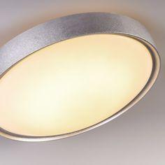 #Deckenleuchte Avanti II 18W LED silber Die perfekte #Leuchte für jede Situation. Mit dieser intelligenten Deckenleuchte bestimmen Sie, mit der Fernbedienung, die Farbtemperatur des Lichts. Schalten Sie mit einem Knopfdruck von warmweiß nach kaltweiß um. Sie können die #Farbtemperatur in drei Stufen auswählen - 3000K, 4000K und 5000K. #Lampenundleuchten.at #Lampe