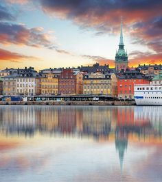 Visit the stunning city of Stockholm, made up of fourteen islands. We recommend a stay at the Mornington Hotel Stockholm Bromma. Stockholm Travel, Visit Stockholm, Stockholm Winter, Hotel Stockholm, Sweden Cities, Voyage Suede, Sweden Christmas, Winter Christmas, Places To Travel