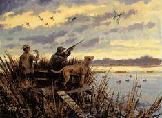 На лов за диви патици