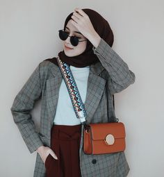 Modern Hijab Fashion, Hijab Fashion Inspiration, Muslim Fashion, Modest Fashion, Girl Fashion, Love Fashion, Fashion Outfits, Womens Fashion, London Outfit