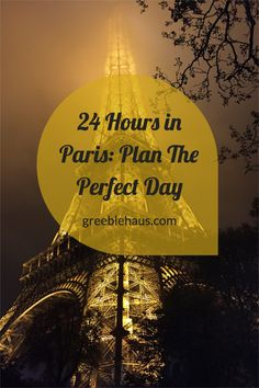 Itinerary, list and maps for a fun-filled day in Paris! All the major attractions including the Notre Dame, Eiffel Tower and Louvre. You can see so much in 24 hours!