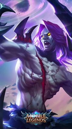 Wallpaper Mobile Legends Moskov Spear of Quiescence Skin Bruno Mobile Legends, Miya Mobile Legends, Hp Mobile, Best Mobile, League Of Legends, Fantasy Characters, Anime Characters, Abstract Desktop Backgrounds, Alucard Mobile Legends