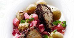 Kylling a la peberbøf med nye ovnbagte kartofler - BO BEDRE