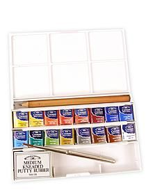 16 half pan Cotman Watercolor  ...want to try a travel set, though it does limit the palette.