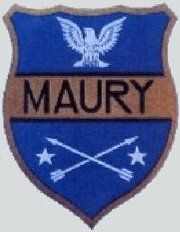 USS Maury (AKA-36/AGS-16) 1945, was an Artemis-class attack cargo ship, was a surveying ship in service with the United States Navy from 1945 to 1969, patch