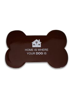 Home Is Where Your Dog Is Pet Placemat (Set of 2) by THRO by Marlo Lorenz at Gilt