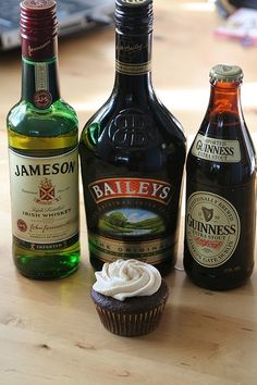 (If Kirk was a baker)... Dessert would be...Guinness chocolate cupcake with Bailey's buttercream frosting and Jameson whiskey caramel filling. Crazy thing is...it sounds...Yummy!