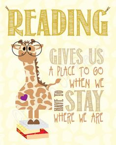 Books can take you so many wonderful  & fantastic places!