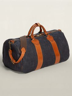Winston Duffel - RRL Bags  amp  Business Accessories - RalphLauren.com  Denim Bag, d0edf96e31