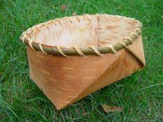 Birch Bark Baskets Custom baskets made to by NorthernWoodsCrafts, $20.00