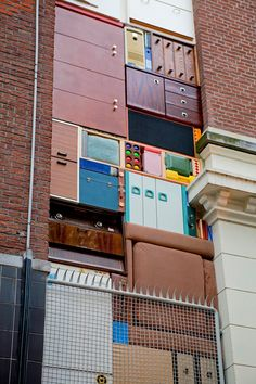 Real life Tetris - in #Rotterdam