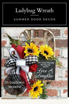 Yellow Wreath for Front Door,Artificial Sunflower Bee Wreath for Front Door Home Party Wall Wedding Party Farmhourse Decor,Wedding Home Office Housewarming Gift