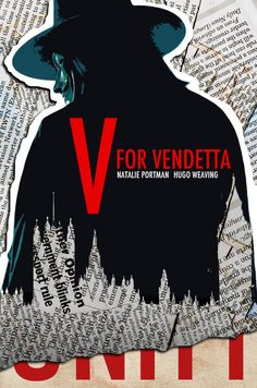 V for Vendetta Movie Poster  Luis Fernando Cruz