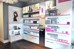 Blow salon by Sheridan, New York store design