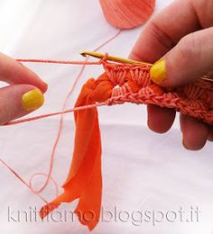 crochet bracelet...or use your imagination....