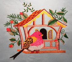 Free Embrory Designs Bird House on
