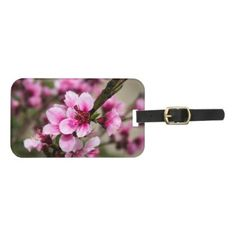 #customize - #Cherry Blossom Luggage Tag