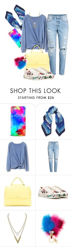 """""""Untitled #1055"""" by soosoali ❤ liked on Polyvore featuring UPROSA, Diane Von Furstenberg, Gap, Orciani, Nasty Gal and Sophie Hulme"""