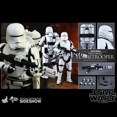 Star Wars First Order Flametrooper Sixth-Scale Figure