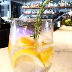OUR gin and tonic is better than yours  #barcelonawinebar #barcelonaginandtonic #yesplease