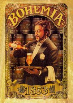 Na Publicidade Vintage Bar, Vintage Labels, Vintage Design, Vintage Images, Vintage Posters, Retro Advertising, Vintage Advertisements, Etiquette Vintage, Beer Poster