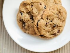 Cherry, Almond Chocolate Chip Cookies