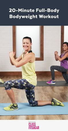 Tone Your Entire Body With This Bodyweight Workout