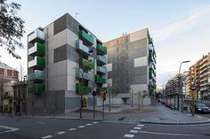 """Santa Madrona"". 62 Habitações Sociais / Pich-Aguilera Architects"