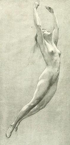 Study for a Water Nymph, Herbert James Draper