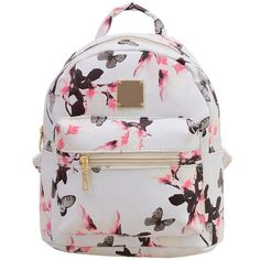 6f2e9dc8e7 Women s Leisure Campus wind Printing backpack
