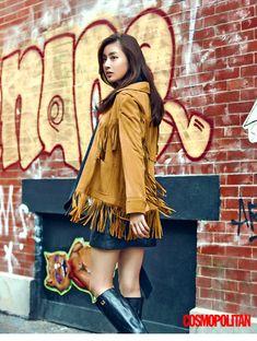 Kang Sora - Cosmopolitan Magazine October Issue '15