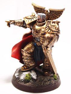 Regal Dorn Imperial Fists Primarch