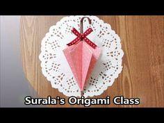 Origami - Umbrella (Folded) / 종이접기 - 우산 (접힌)
