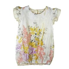 NixieClassicRuffleTop From our SS13 Collection made from 100% vintage silk made in the UK #NixieClothing #vintage #silktop