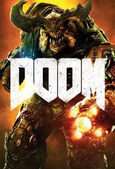Trends International Doom Cyber Demon Wall Poster inch x 34 inch, Multicolor Doom 4, Doom Game, Best Games, Fun Games, Video Game Art, Video Games, Poster Wall, Poster Prints, Doom 2016