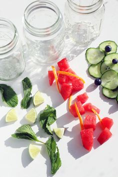 Sip Up The Summer WIth These 3 Healthy Infused Water Recipes | Free People Blog #freepeople