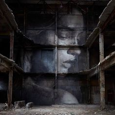 Work in Melbourne, Australia by RONE.  Things have soul. Because, nothing becomes a thing, without someone's soul had seen it.