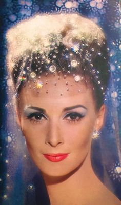 Revlon 'Frosted Touch & Glow' Cosmetics Ad - detail, 1963